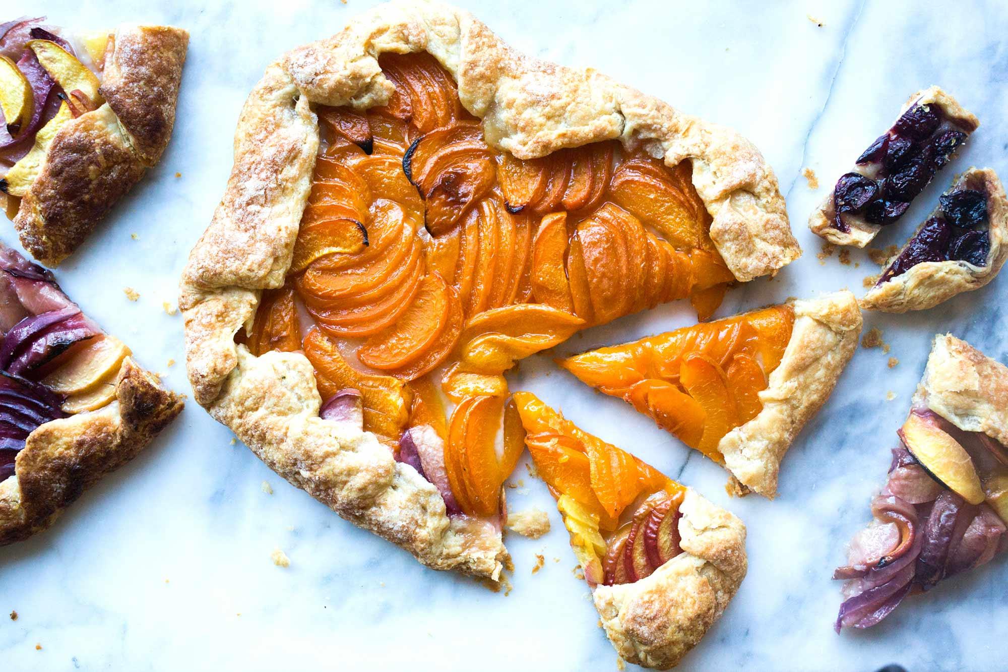Full Circle - Recipe: Stone Fruit Galette