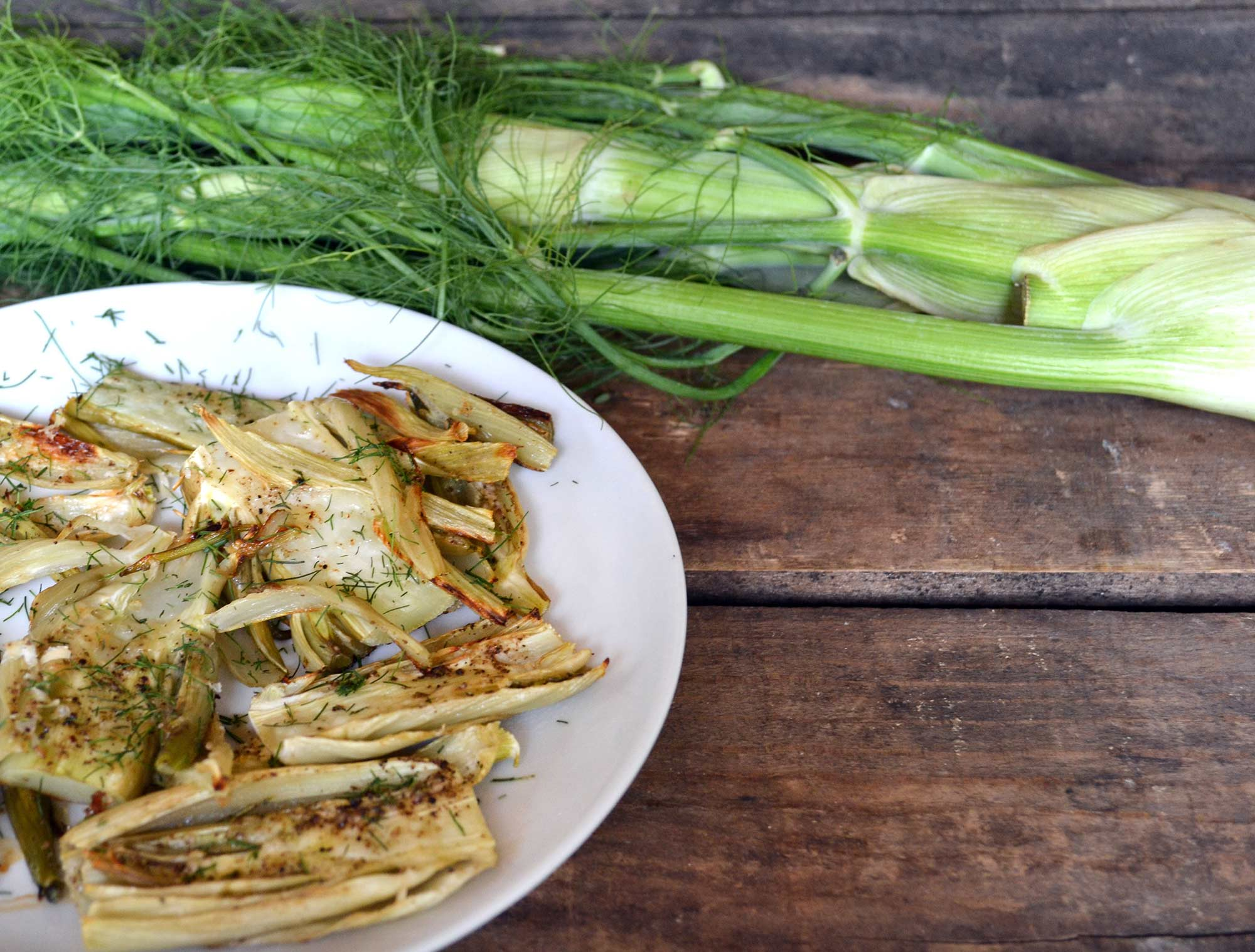 Roasted Fennel with Parmesan