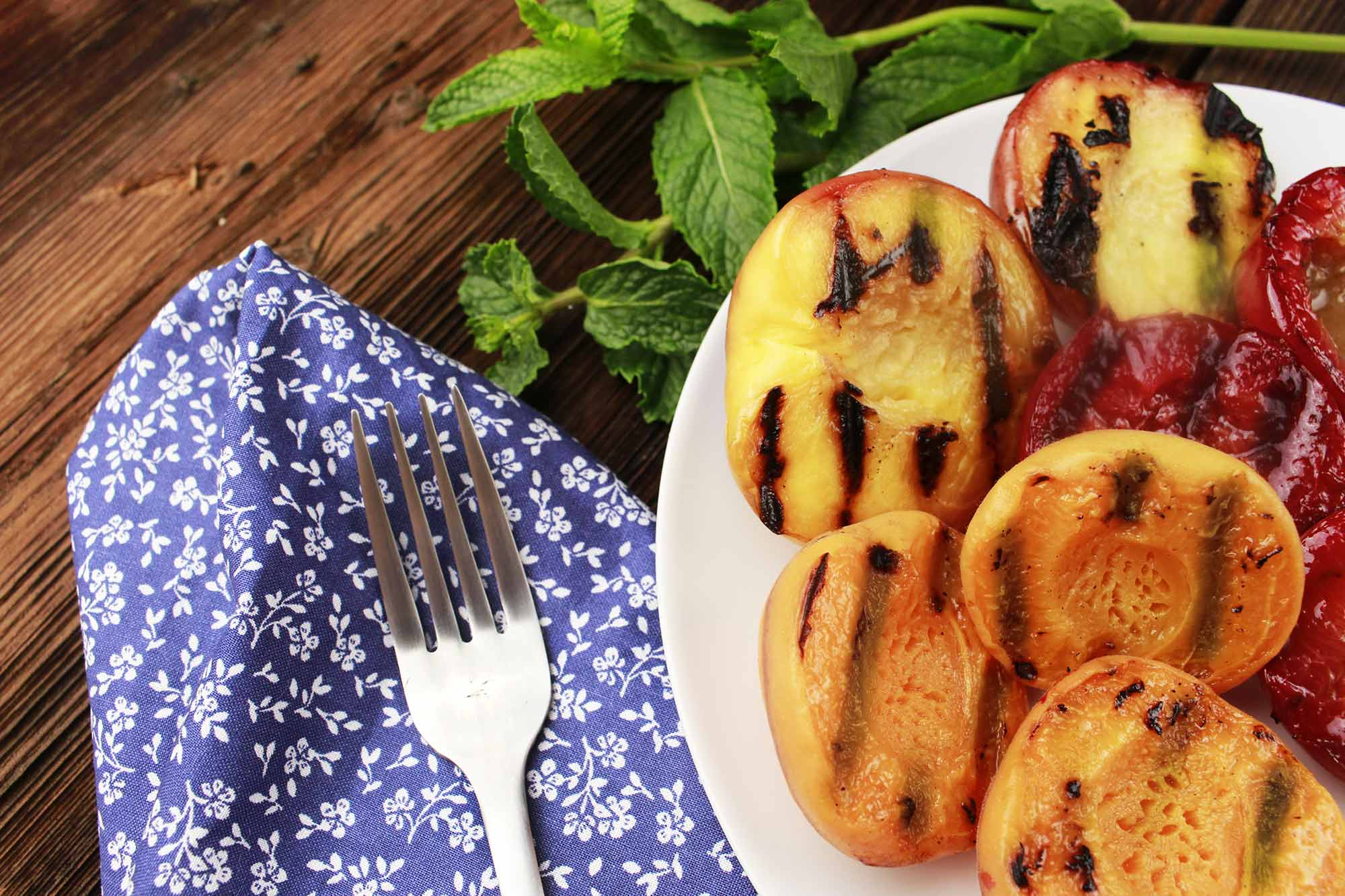 Full Circle - Recipe: Grilled Stone Fruit (duplicate)